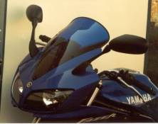Bulle MRA Touring claire Yamaha FZS 600 Fazer 02-03