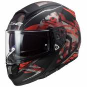 Ls2 Ff397 Vector Ft2 XS Stencil Matt Black / Red