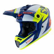 Casque cross Kenny Track Graphic navy/jaune fluo- L