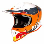 Casque cross Kini Red Bull Competition V.2 orange/blanc/anthracite- XS