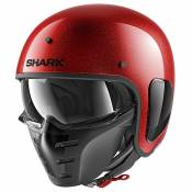 Shark S-drak Blank L Red Glitter