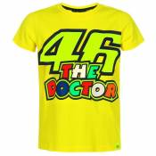 T-Shirt manches courtes VR 46 VALENTINO ROSSI 46 THE DOCTOR ENFANT