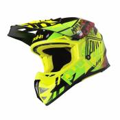 Casque cross enfant Pull-in Trash jaune fluo/lime - S