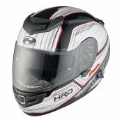 Casque intégral Held Brave II blanc/rouge - XS