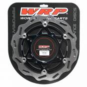 Wrp Floating Front Disc 270 Mm Kawasaki Kx/kxf/klx 2006-2018 One Size Silver