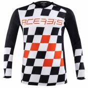Maillot cross Acerbis LTD START & FINISH BLACK ORANGE 2020