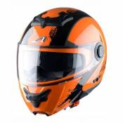 Casque Modulable Astone Rt800 Graphic Venom noir/orange mat- XS