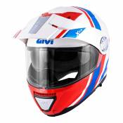 Casque modulable Givi X.33 Canyon Division blanc/rouge/bleu- XL/61
