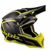 Casque cross Hebo LEGEND CARBON LIME 2019