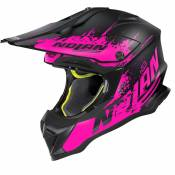 Casque cross Nolan N53 - SAVANNAH - FLAT BLACK PINK 2021