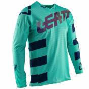 Maillot cross Leatt GPX 5.5 ULTRAWELD - AQUA 2020