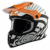 Casque ufo shock orange- L