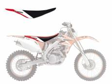 Housse de selle Blackbird Dream Graphic 3 Honda CRF 450X 04-16 rouge/b