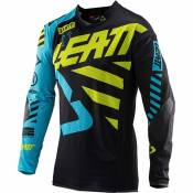 Leatt Gpx 5.5 Ultraweld S Black / Lime / Blue