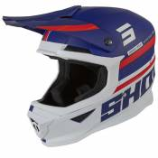 Casque cross Shot FURIOUS SHINING - BLUE RED MATT 2021