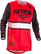 Maillot cross Fly Racing Kinetic Era rouge - XL