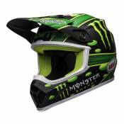 Casque cross Bell MX-9 Mips McGrath Showtime Replica noir/vert- XS