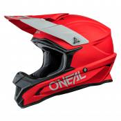 Casque cross O'Neal 1 SERIES - SOLID - RED MATT 2021