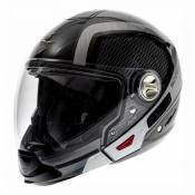 Casque transformable Scorpion EXO-300 AIR GRID Anthracite Métal Alu-