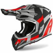 Casque cross Airoh AVIATOR ACE - TRICK - RED MATT 2021