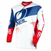 Maillot cross O'Neal ELEMENT YOUTH - FACTOR - WHITE BLUE RED