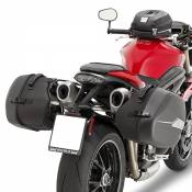 Supports pour sacoches latérales ST601/ST604 Givi Triumph 1050 Speed T