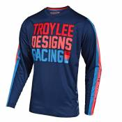 Maillot cross TroyLee design GP YOUTH AIR - PREMIX 86 - NAVY 2020