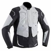 Veste textile Ixon CROSS AIR gris/noir- 2XL