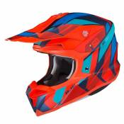 Casque cross Hjc I50 - VANISH - RED BLUE MC64HSF 2021
