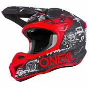 Oneal 5 Series Polyacrylite Hr XS Black / Red