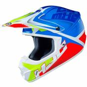 Casque cross Hjc CS MX II - ELLUSION - BLUE RED 2021
