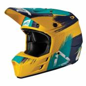 Casque cross Leatt GPX 3.5 V19.1 GOLD/TEAL 2019