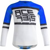 Maillot cross Acerbis VENTED HELIOS BLUE WHITE 2021
