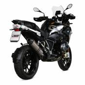 Silencieux Mivv Oval titane casquette carbone BMW R 1250 GS 2019