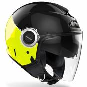 Airoh Helios Fluo XS Black / Yellow Gloss