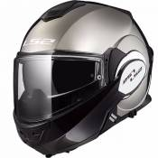 Casque LS2 FF399 VALIANT SOLID CHROME