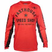 Maillot cross FASTHOUSE ORIGINALS AIR COOLED RED 2020