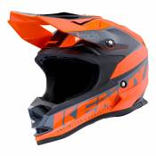 Casque cross enfant Kenny Track Kid Focus orange fluo - M