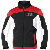 Veste zip Held TEAM noir/rouge- 4XL