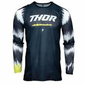 Maillot cross Thor PULSE AIR - RAD - MIDNIGHT WHITE 2021