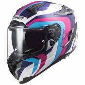 Ls2 Ff327 Challenger Hpfc Galactic S Gloss White / Blue / Pink