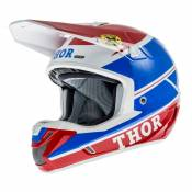Casque Cross Thor Verge Pro Gp Bleu/Rouge- L