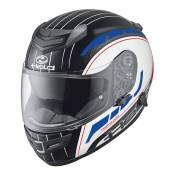 Casque intégral Held Brave II blanc/rouge/bleu - XS