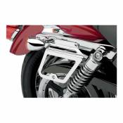 Supports de sacoches Harley Davidson Sportster 04-19 chrome