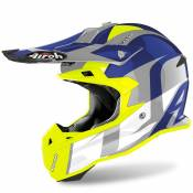 Casque cross Airoh TERMINATOR OPEN VISION - SHOT -BLUE GLOSS 2020
