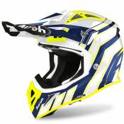 Casque cross Airoh AVIATOR ACE - ART - BLUE GLOSS 2021
