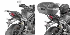 Support de top case Givi Monorack Triumph 765 Street Triple 17-18