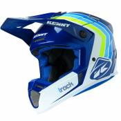 Casque cross Kenny TRACK - VICTORY - WHITE BLUE 2021