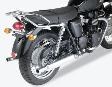 Support top case Givi chrome Triumph Bonneville 865