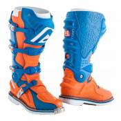 Bottes cross Acerbis X-Move 2.0 bleu/orange - 39